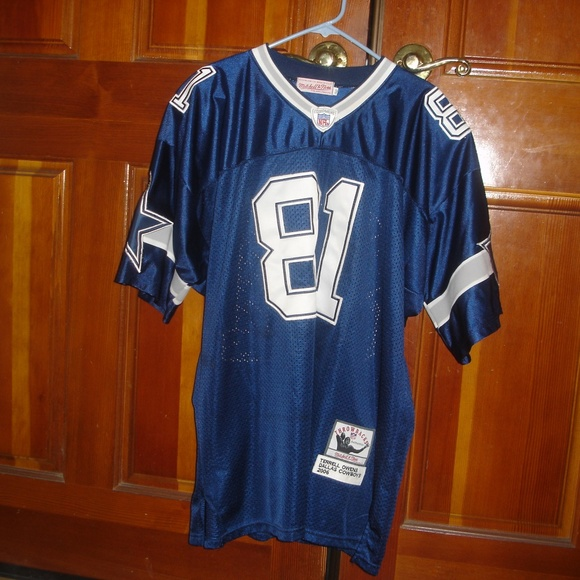the latest 61583 6db45 TERRELL OWENS Men's Size 52 #81 Cowboys Jersey